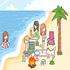 Planejar festa na praia